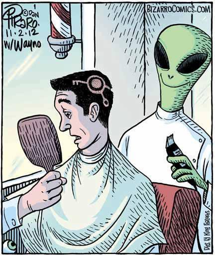 peluquero gris
