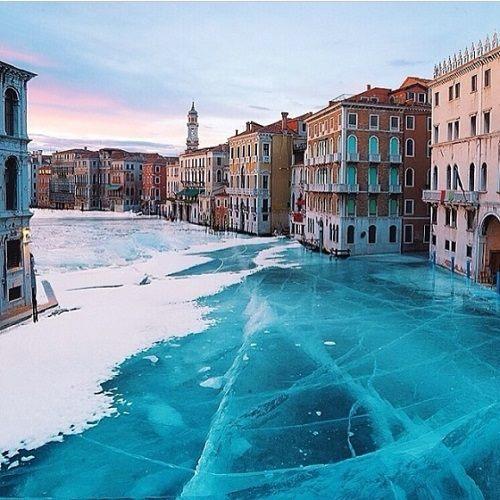 venecia congelada