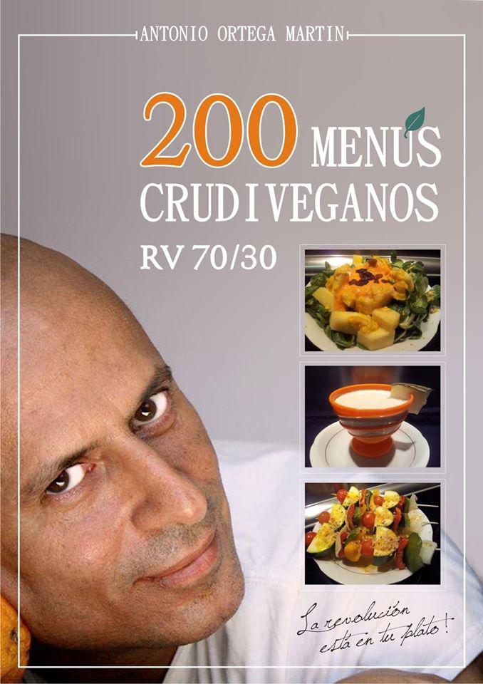 Antonio Ortega de Raw Vegan nos regala una recopilacion de 200 menus crudiveganos elaborados con Agua de Mar
