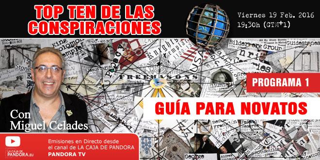 TOP TEN DE LAS CONSPIRACIONES - Programa 1 web