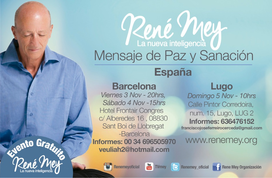 Rene Mey en Barcelona